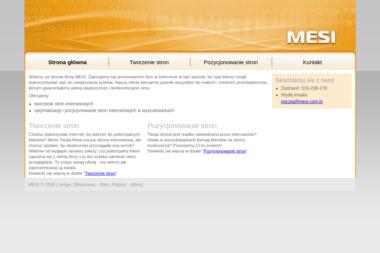 MESI - Usługi Marketingu Internetowego Grójec