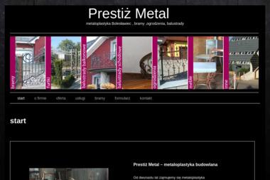 Metal-prestiż - Bramy Kute Bolesławiec