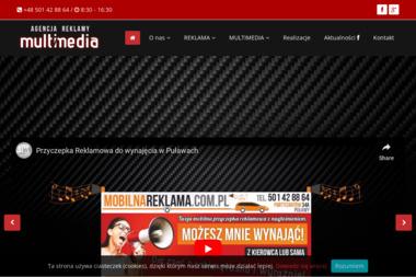 Multimedia - Agencja Reklamowa - Strony internetowe Puławy