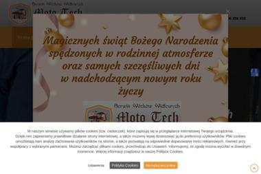 Moto Tech - Wózki widłowe Puck