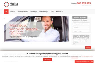 Multia Ubezpieczenia - Ubezpieczenie samochodu Gdańsk