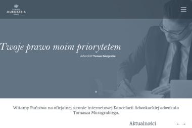 Kancelaria Adwokacka - adwokat Tomasz Murgrabia - Kancelaria prawna Łowicz