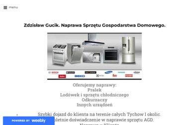 Naprawa Sprzętu Gospodarstwa Domowego Zdzisław Gucik - Naprawa drobnego sprzętu AGD Tychy
