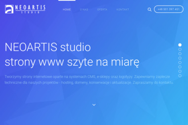 Neoartis studio - Strony internetowe Legnica