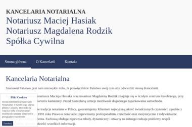 Kancelaria Notarialna - Notariusz Maciej Hasiak - Kancelaria Prawna Kołobrzeg