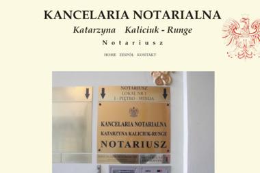 Kancelaria notarialna - Katarzyna Kaliciuk-Runge - Kancelaria Prawna Świnoujście