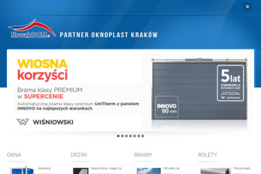 NOWAK DOM P. Nowak & A. Popiół-Nowak S.C. - Drzwi Sokołów Podlaski