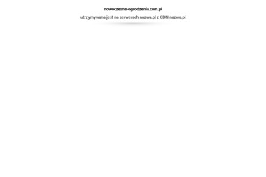Nowoczesne Ogrodzenia PC - Ogrodzenia betonowe Wysoka Strzyżowska