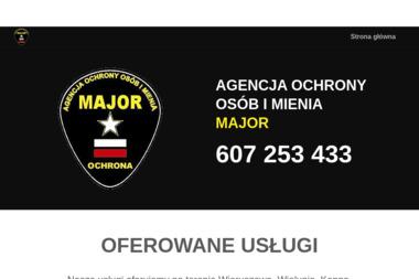 Agencja Ochrony Osób i Mienia MAJOR - Kancelaria prawna Ostrzeszów