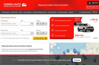 Odkryj-Auto Sp. z o.o. - Wypożyczalnia samochodów Kraków
