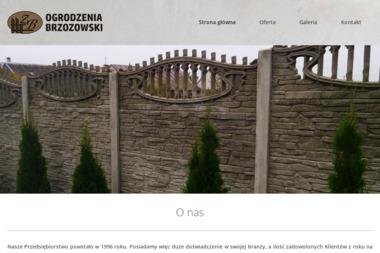 Ogrodzenia Brzozowski - Panele Betonowe Sokoły