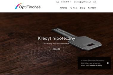OptiFinanse - Refinansowanie Kredytu Bolesławiec