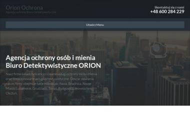 Orion Security Investments - Agencja Detektywistyczna Nowe Miasto Lubawskie