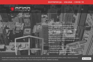 ORION NEXT Sp. z o.o. - Agencja ochrony Zielona Góra