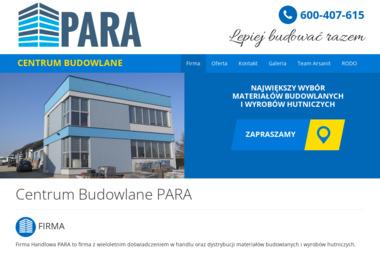 Centrum Budowlane PARA - Wełna na Poddasze Busko-Zdrój