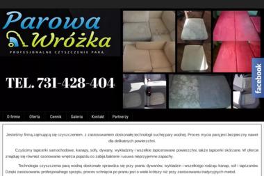 Parowa Wróżka - Czyszczenie Tapicerki Meblowej Szczecin