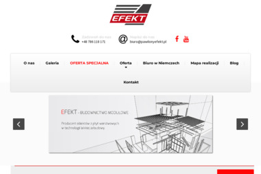 Przedsiębiorstwo Wielobranżowe EFEKT - Domy modułowe Ludomy