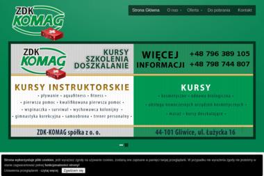 ZDK-KOMAG Sp. z o.o. - Kurs pierwszej pomocy Gliwice