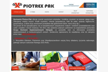 PIOTREX-PAK - Opakowania Gdańsk