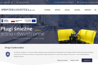 """""""SPRINTER - LOGISTYKA"""" Sp. z o.o. - Tokarstwo Jasło"""