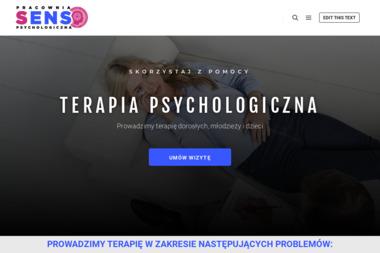Pracownia Psychologiczno-Psychoterapeutyczna SENS - Psycholog Nisko
