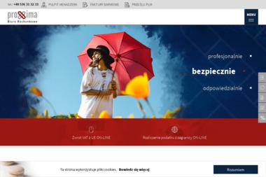 Biuro Rachunkowe PROXIMA - Plan Biznesowy Nowy Sącz