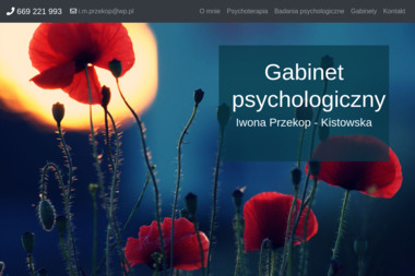 Iwona Przekop Gabinet Psychologiczny - Psycholog Szamotuły