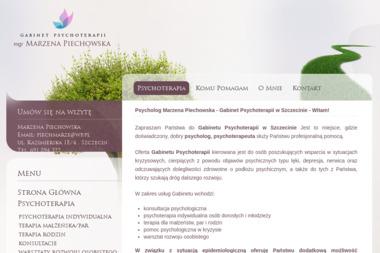 Gabinet Psychoterapii Marzena Piechowska - Psycholog Szczecin