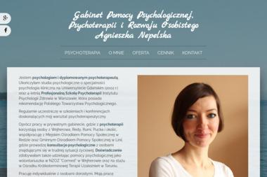 Agnieszka Nepelska - Psycholog - Psycholog Wejherowo