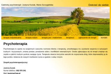 Gabinety psychoterapii Justyna Koziak, Maria Szczygielska - Psycholog Przemyśl