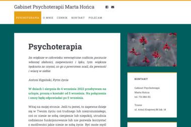 Gabinet Psychoterapii Integratywnej – Marta Hońca - Psycholog Tczew