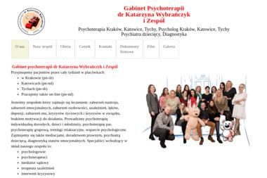 Gabinet psychoterapii Katarzyna Wybrańczyk - Terapia uzależnień Pszczyna