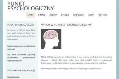 Anna Ciężkowska Punkt Psychologiczny - Psycholog Białystok