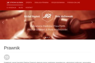 Kancelaria Radców Prawnych Michał Stępień - Firma Windykacyjna Kołobrzeg