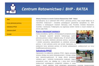 Centrum Ratownictwa - Ratea - Usługi Szkoleniowe Błonie