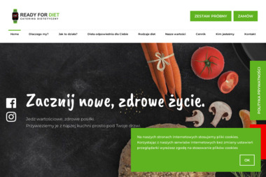 Ready for Diet CATERING DIETETYCZNY - Usługi Cateringowe Dzierżoniów