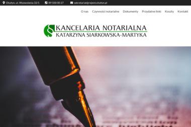 Notariusz Katarzyna Siarkowska-Martyka - Notariusz Olsztyn