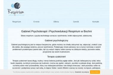 Gabinet Psychoterapii i Psychoedukacji Respirium - Psycholog Bochnia
