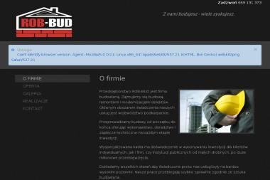 F.H.U.Rob-Bud - Malarz Ustrzyki Dolne