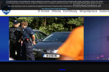 """Agencja Ochrony """"Ronin"""" - Firma Detektywistyczna Lubliniec"""