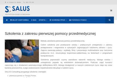 SALUS Consulting - Kurs Pierwszej Pomocy Wo艂ów