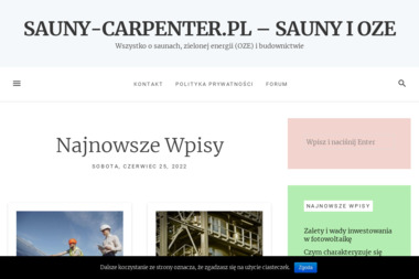 CARPENTER sp. z o.o. - Sauny Kórnik