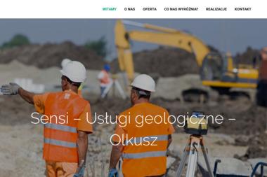 """""""Sensi"""" F.U. - Badanie Geotechniczne Olkusz"""