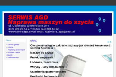 Serwis AGD - Naprawa zmywarek Płock