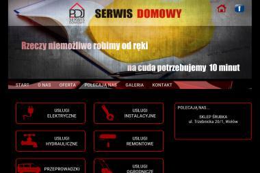 PDJ Serwis Domowy - Instalacja Anten Satelitarnych Wołów