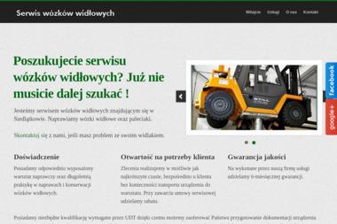 Serwis Wózków Widłowych Marek Kaźmierczak - Wózki widłowe Siedlątków