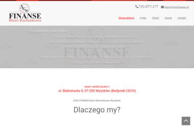 SGW FINANSE Biuro Rachunkowe - Usługi Księgowe Wyszków