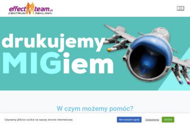 Effect Team Agencja Reklamy - Drukarnia Słupsk