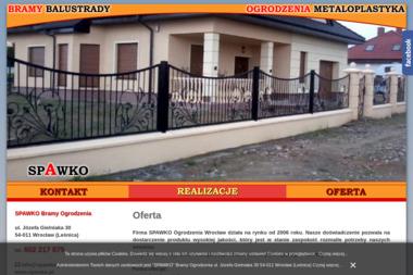 SPAWKO Bramy Ogrodzenia - Ogrodzenia z Drewna Wrocław