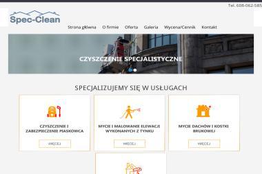 Spec-Clean - Mycie Elewacji Rokiciny